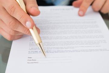 Quebra de Contrato Intermitente - documento de contrato de trabalho