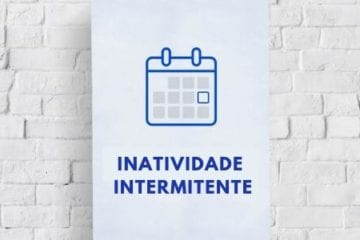 período de inatividade no contrato intermitente