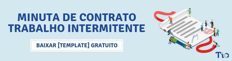 minuta de contrato trabalho intermitente - banner de divulgação de minuta de contrato do trabalho intermitente